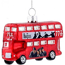 "Kurt S. Adler Beatles ""Hard Days Night"" Bus Ornament"