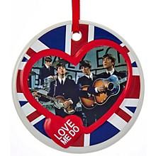 Kurt S. Adler Beatles Porcelain Disc Ornament