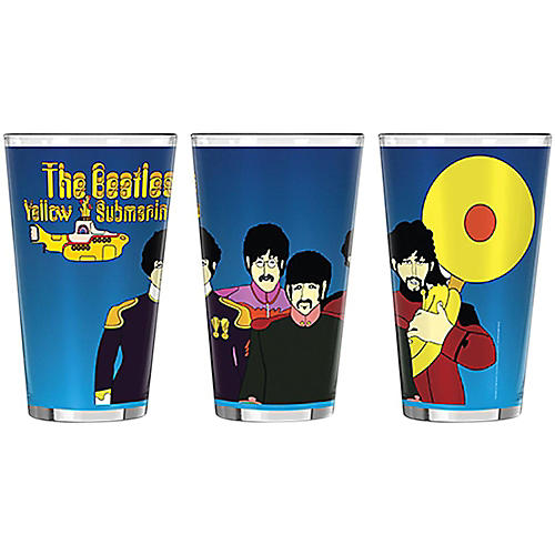 Boelter Brands Beatles Yellow Submarine Musicians Sublimated Pint