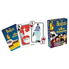 Hal Leonard Beatles Yellow Submarine Playing Cards