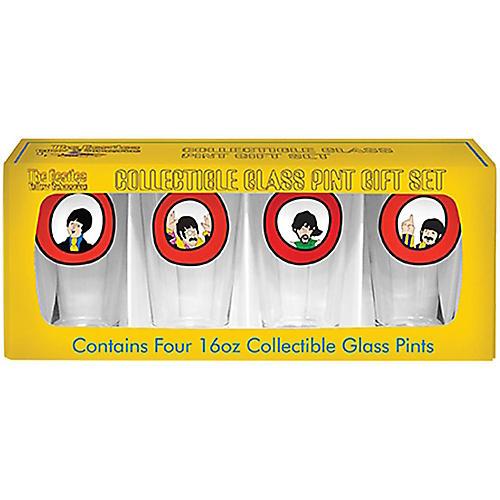 Boelter Brands Beatles Yellow Submarine Port Hole Pint Set (4 Pack)