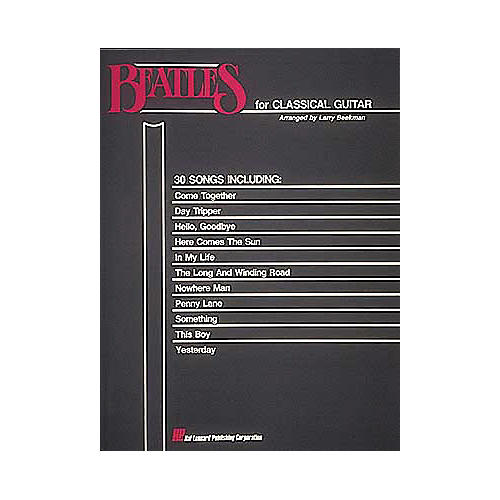 Hal Leonard Beatles for Classical Guitar(Book)