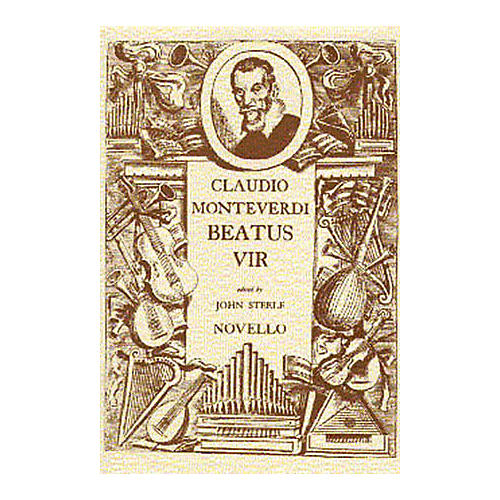 Novello Beatus Vir (Vocal Score (Latin)) SATB Composed by Claudio Monteverdi