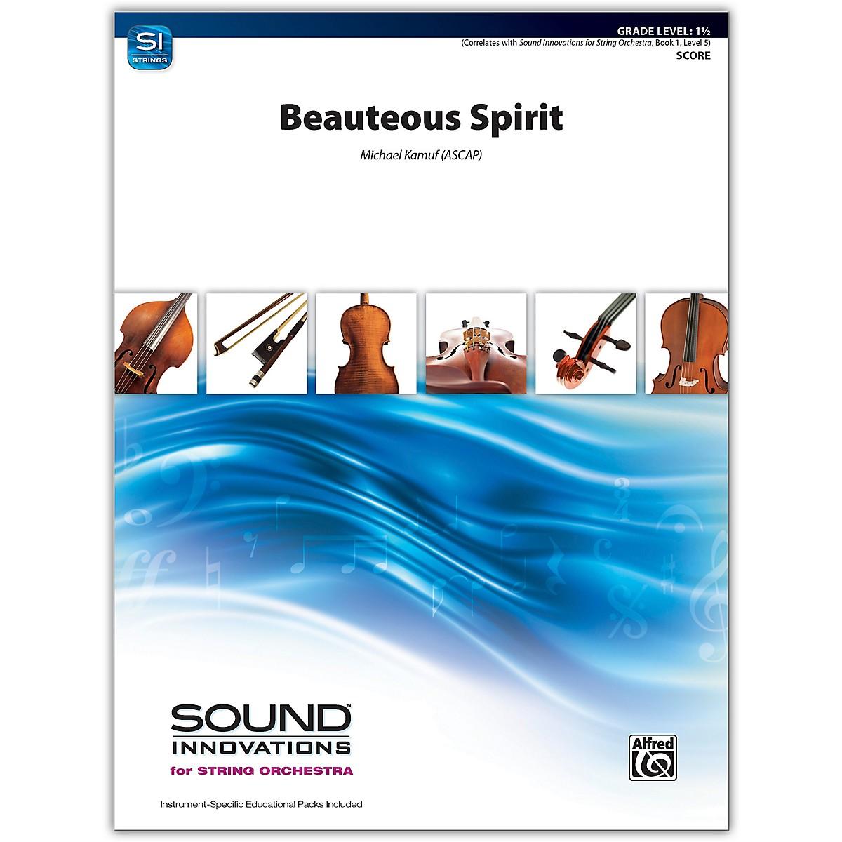 Alfred Beauteous Spirit Conductor Score 1.5