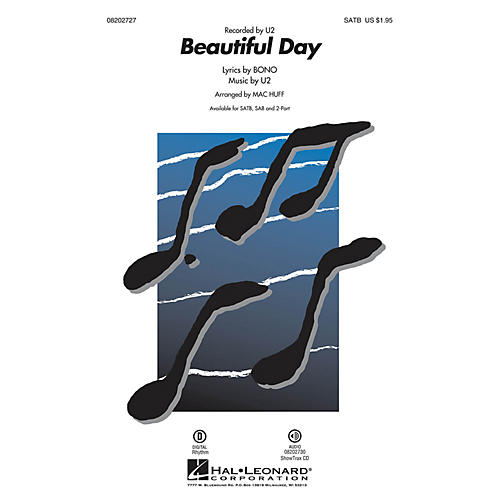 Hal Leonard Beautiful Day 2-Part by U2 Arranged by Mac Huff