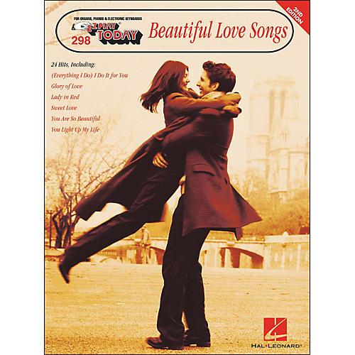 Hal Leonard Beautiful Love Songs 2nd Edition E-Z Play 298