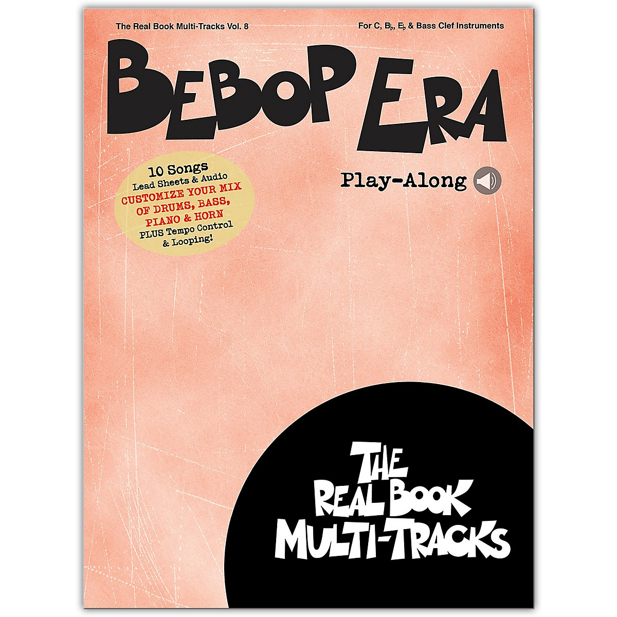 Hal Leonard Bebop Era Play-Along  Real Book Multi-Tracks Volume 8 Book/Audio Online