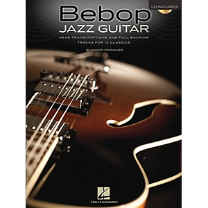Hal Leonard Bebop Jazz Guitar Guitar Book Series Softcover with CD Written ... by Hal Leonard