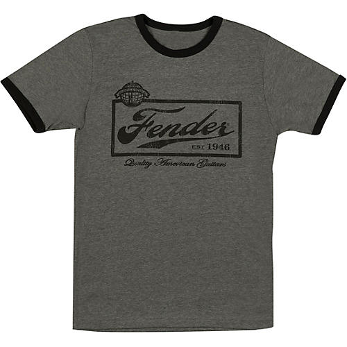 Fender Beer Label Mens T-Shirt