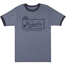 Fender Beer Label T-Shirt - Blue
