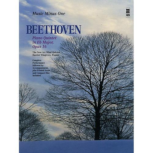 Music Minus One Beethoven -  Piano Quintet in E-flat Maj, Op 16 Music Minus One BK/CD by Ludwig van Beethoven