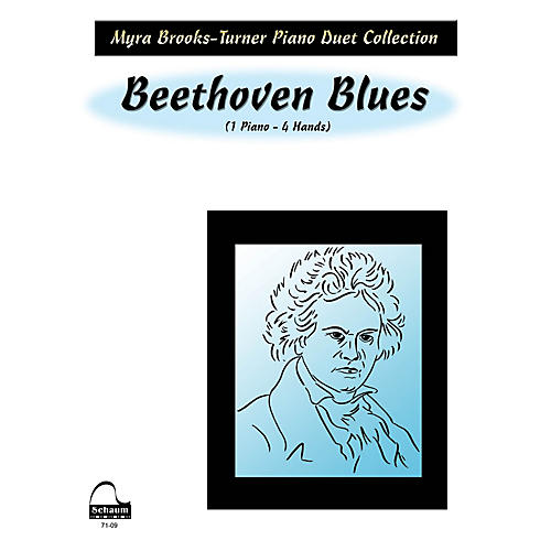 SCHAUM Beethoven Blues (duet) Educational Piano Series Softcover