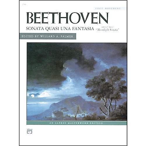 Alfred Beethoven Moonlight Sonata Op. 27 No. 2 (1st Movement) Late Intermediate Piano