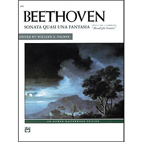 Alfred Beethoven Moonlight Sonata Op  27 No  2 (Complete) Late  Intermediate/Early Advanced Piano Solo