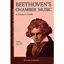 Hal Leonard Beethoven's Chamber Music - Unlocking The Masters Series Book/CD