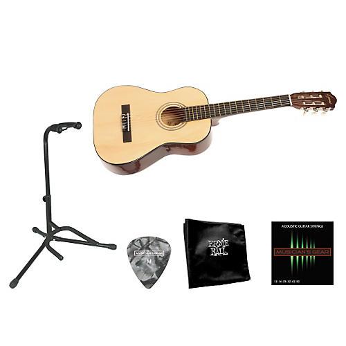 Lyons Beginner 1/2 Scale Nylon-String Guitar Bundle