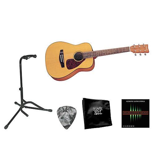 Yamaha Beginner 3/4 Size Folk Guitar Bundle