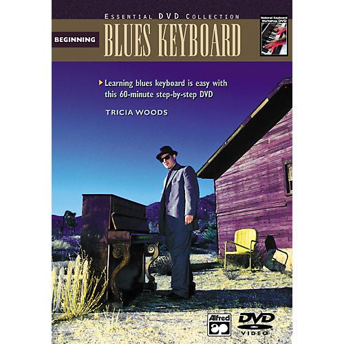 Alfred Beginning Blues Keyboard (Book/DVD)