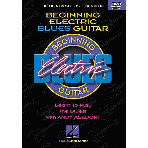 Hal Leonard Beginning Electric Blues Guitar (DVD)