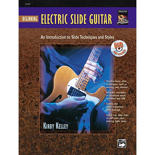 Alfred Beginning Electric Slide Guitar (Book/DVD)