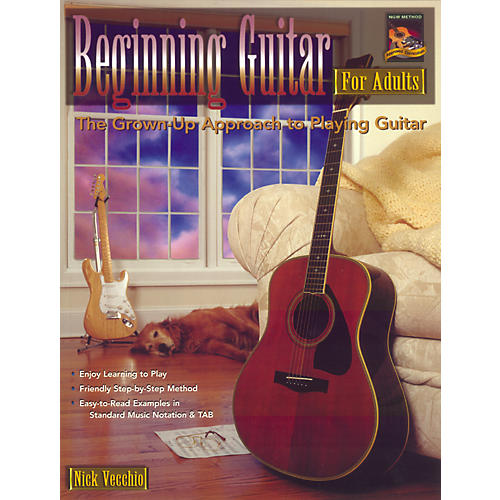 Alfred Beginning Guitar For Adults (Book/DVD)