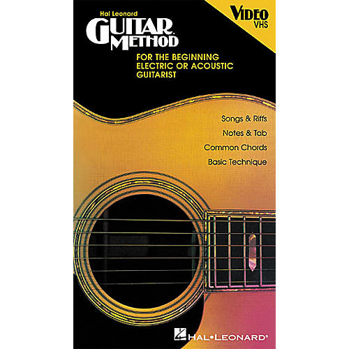Hal Leonard Beginning Guitar Method Video
