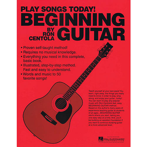 CSI Beginning Guitar (Play Songs Today!) Book Series Softcover Written by Ron Centola