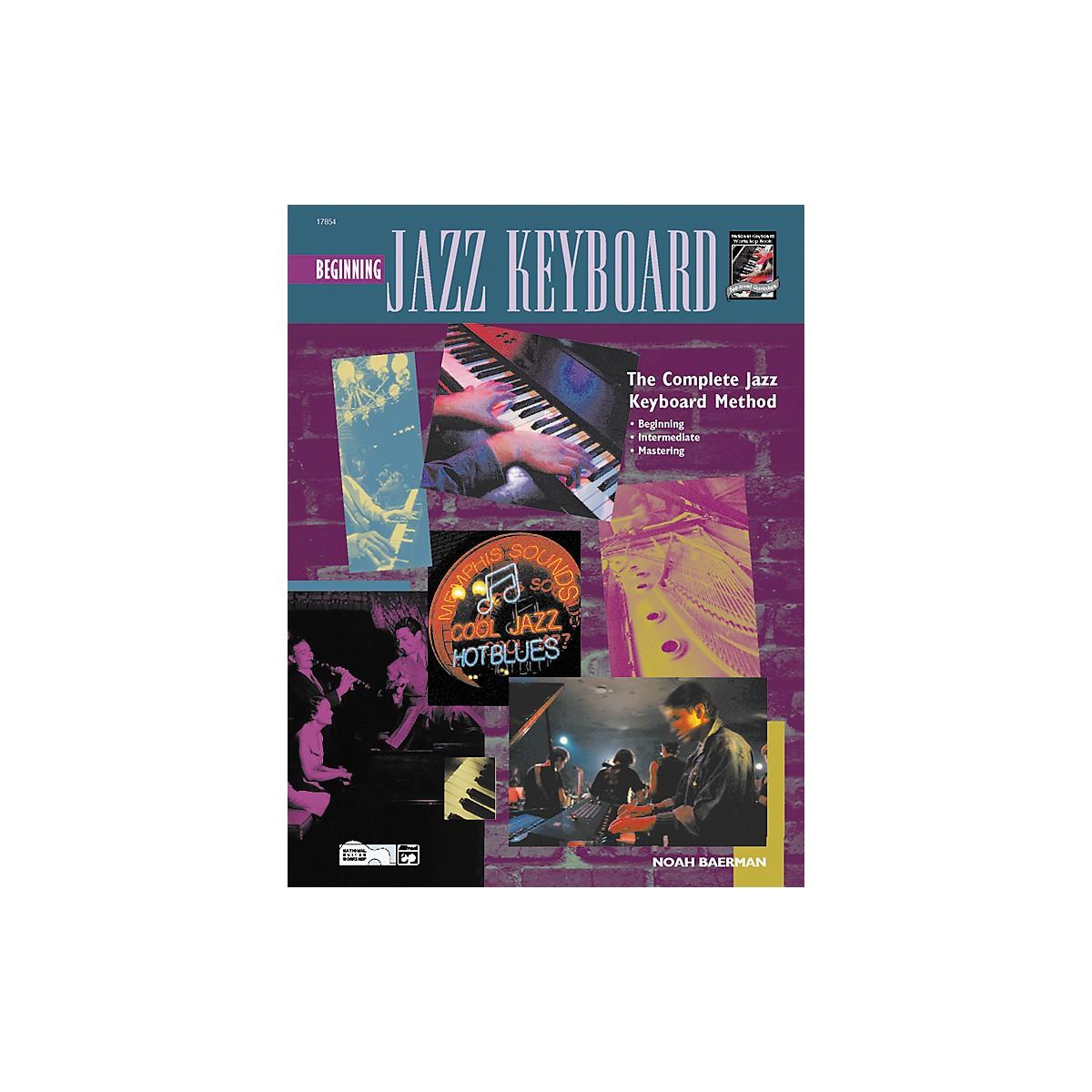 Alfred Beginning Jazz Keyboard (Book/CD)