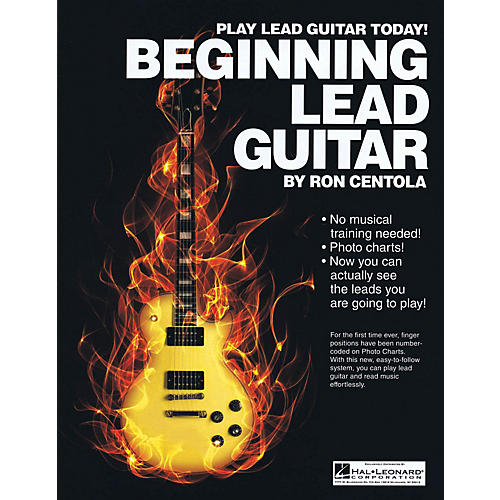 CSI Beginning Lead Guitar Book Series Softcover Written by Ron Centola