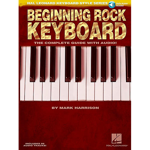 Hal Leonard Beginning Rock Keyboard (Book/CD) - Hal Leonard Keyboard Style Series