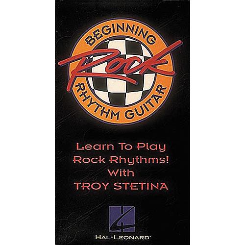 Hal Leonard Beginning Rock Rhythm Guitar (Video)