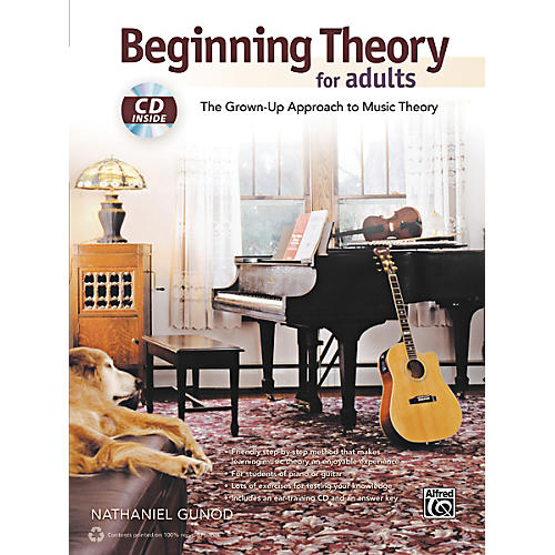 Alfred Beginning Theory for Adults Book & CD
