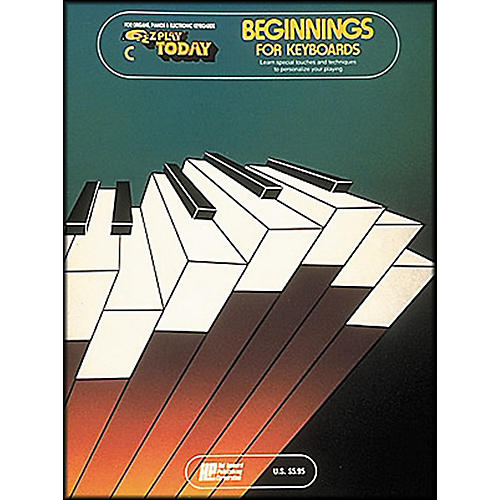 Hal Leonard Beginnings for Keyboards Book C E-Z Play Today