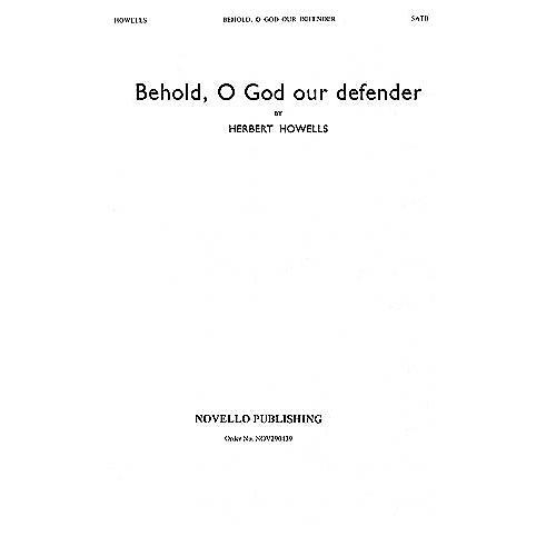 Novello Behold, O God Our Defender SATB Composed by Herbert Howells