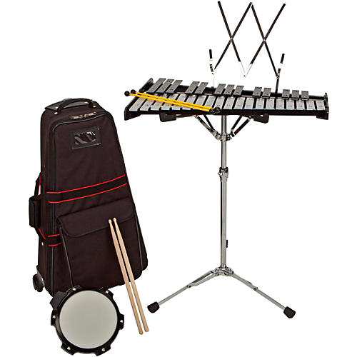 Sound Percussion Labs Bell Kit w/ Rolling Cart