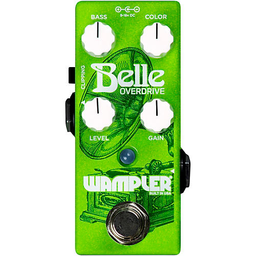 Wampler Belle Overdrive Effects Pedal