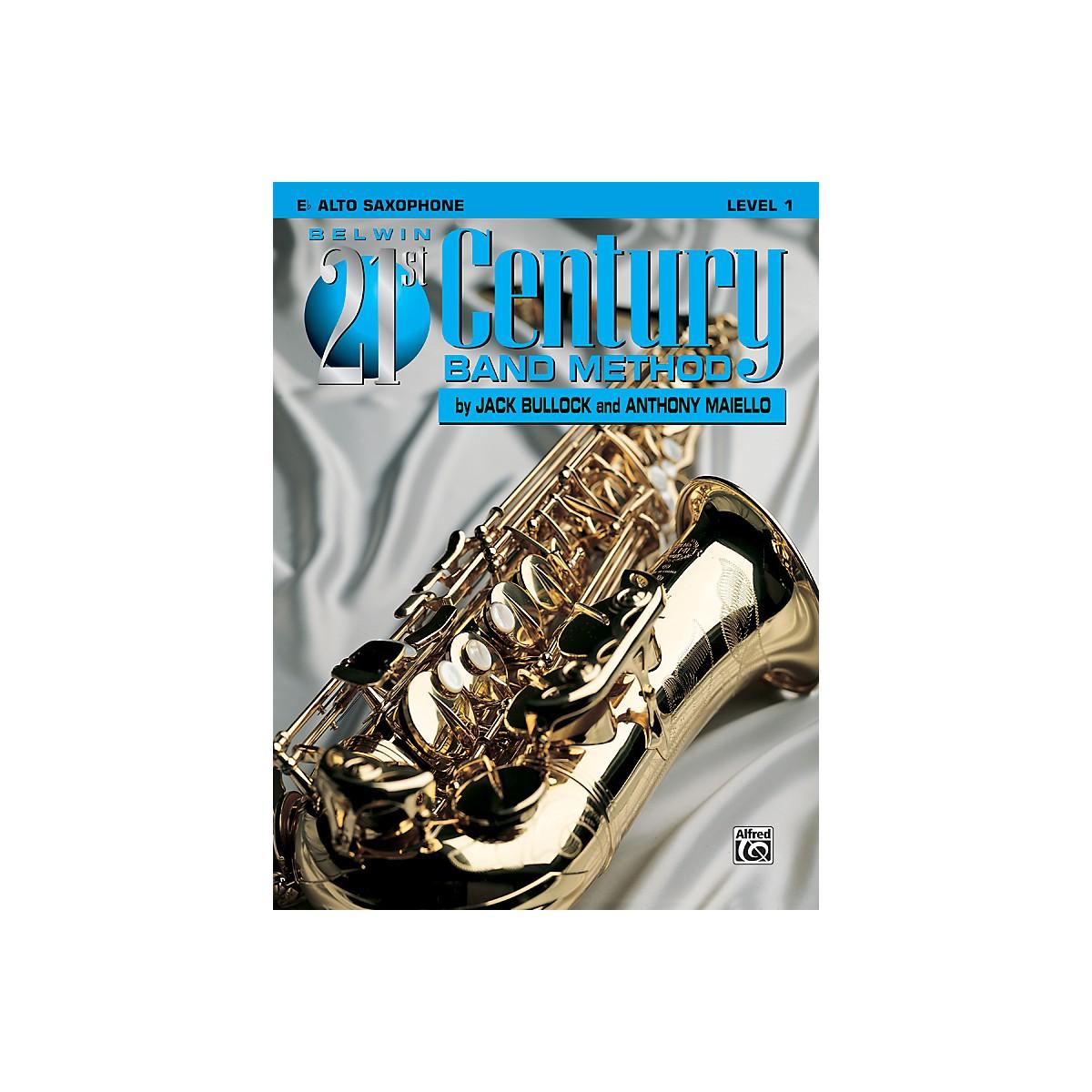 Alfred Belwin 21st Century Band Method Level 1 E-Flat Alto Saxophone Book
