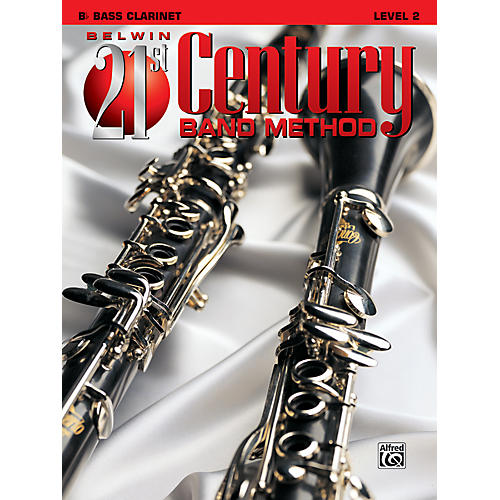 Alfred Belwin 21st Century Band Method Level 2 Bass Clarinet Book