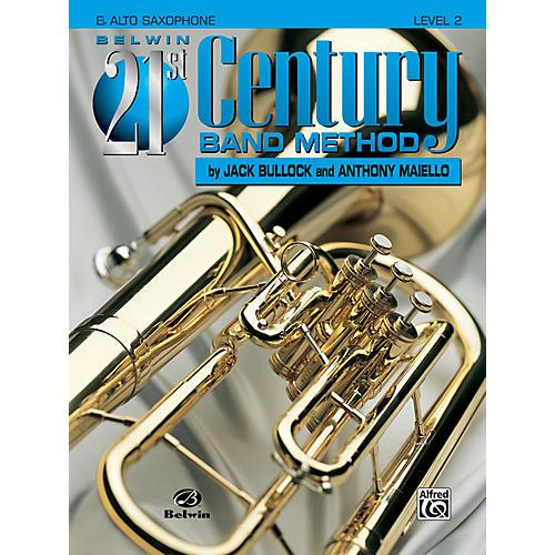 Alfred Belwin 21st Century Band Method Level 2 E-Flat Alto Saxophone Book