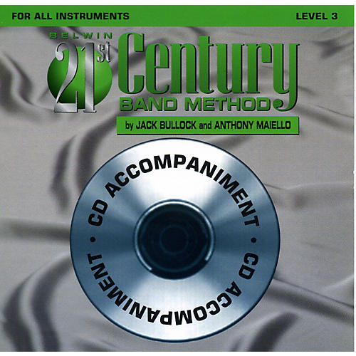 Alfred Belwin 21st Century Band Method Level 3 CD
