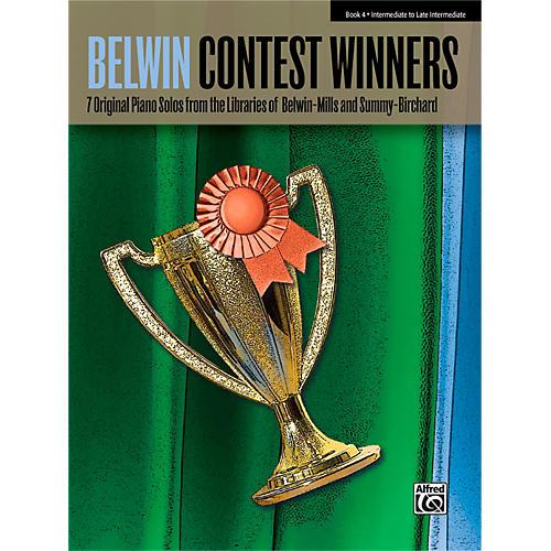Alfred Belwin Contest Winners Piano Book 4