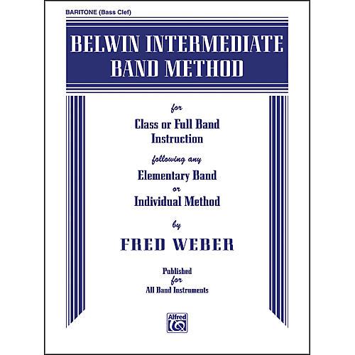 Alfred Belwin Intermediate Band Method Baritone B.C.