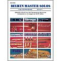 Alfred Belwin Master Solos Volume 1 (Saxophone) Easy Solo Book Only thumbnail