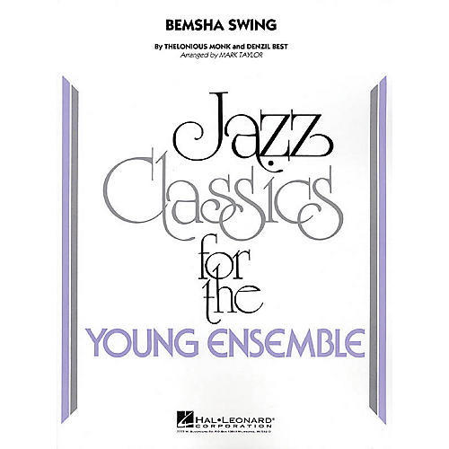 Hal Leonard Bemsha Swing Jazz Band Level 3 Arranged by Mark Taylor