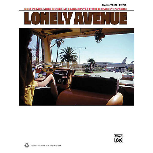 Alfred Ben Folds - Lonely Avenue Piano/Vocal/Guitar Artist Songbook Series Softcover Performed by Ben Folds