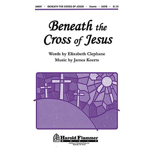 Shawnee Press Beneath the Cross of Jesus SATB composed by Elizabeth Clephane