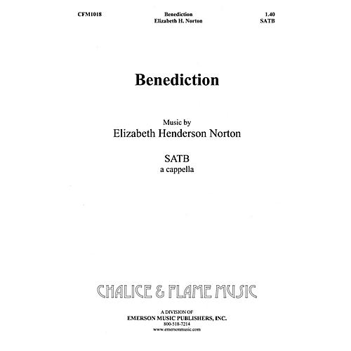 Hal Leonard Benediction SATB composed by Elizabeth Norton