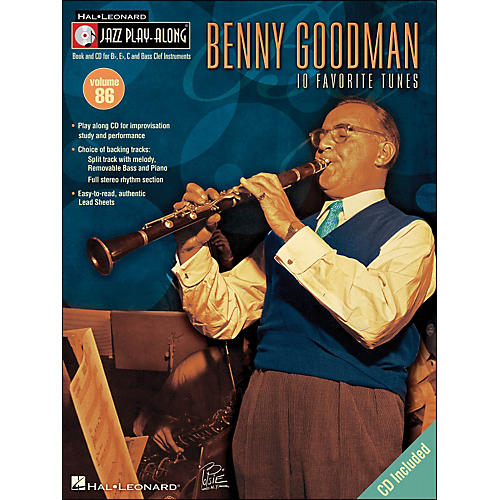 Hal Leonard Benny Goodman - Jazz Play-Along, Volume 86 (CD/Pkg.)