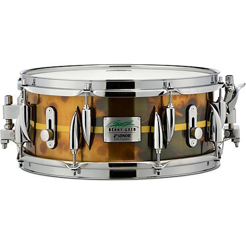 SONOR Benny Greb Brass Signature Snare Drum