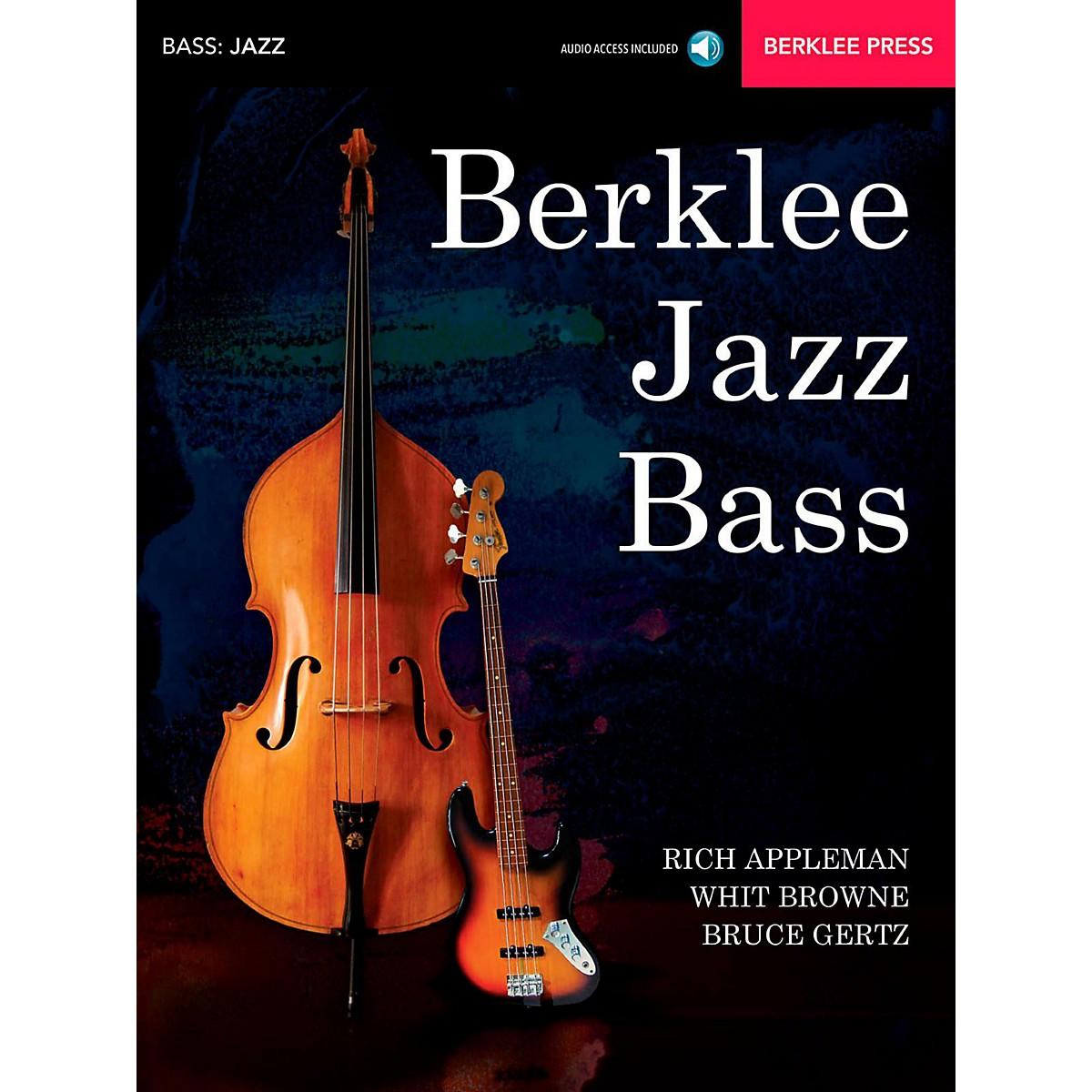 Berklee Press Berklee Jazz Bass Berklee Press Book/Audio Online
